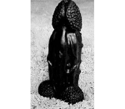 Фаллоимитатор-гигант Посейдон черный