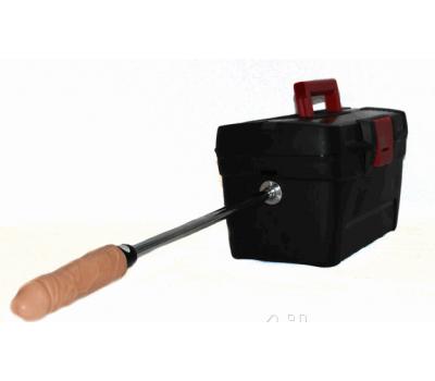 Мобильная секс-машина Черный ящик с частотой фрикций 300 об.