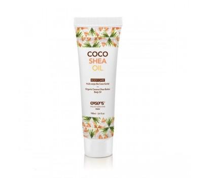 Органическое кокосовое масло Карите (Ши) для тела EXSENS Coco Shea Oil 100 мл