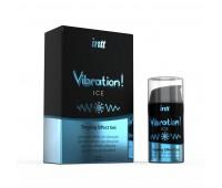 Жидкий вибратор Intt Vibration Ice (15 мл)