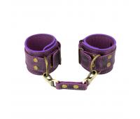 Наручники LOVECRAFT фиолетовые