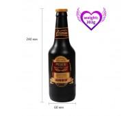 Мастурбато- вагина бутылка Beer bottle masturbation Cup без вибрации телесный
