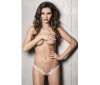 ATHENA THONG white L/XL - Passion Exclusive