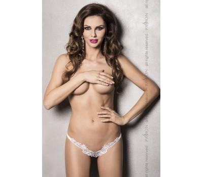 ATHENA THONG white L/XL - Passion Exclusive