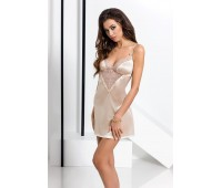 LOTUS CHEMISE cream L/XL - Passion Exclusive