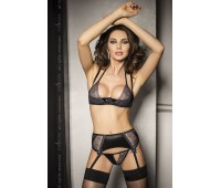 CHARLOTTE SET black L/XL - Passion