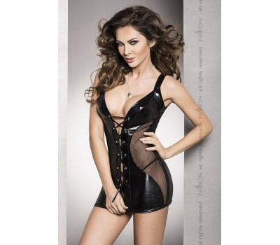 DONATA CHEMISE black L/XL - Passion Exclusive