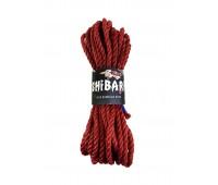 Джутовая веревка для Шибари Feral Feelings Shibari Rope, 8 м красная