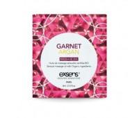 Пробник массажного масла EXSENS Garnet Argan 3мл