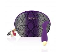 Вибратор для точки G Rianne S: Boa Mini Purple, 10 режимов работы, медицинский силикон