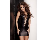 LIZZY DRESS black XXL/XXXL - Passion Exclusive