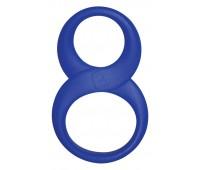 Эрекционное кольцо Rocks Off 8 Ball Blue
