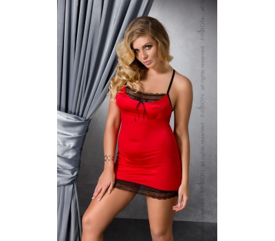 EVANE CHEMISE red 6XL/7XL - Passion