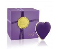 Вибратор-сердечко Rianne S: Heart Vibe Purple, 10 режимов работы, медицинский силикон