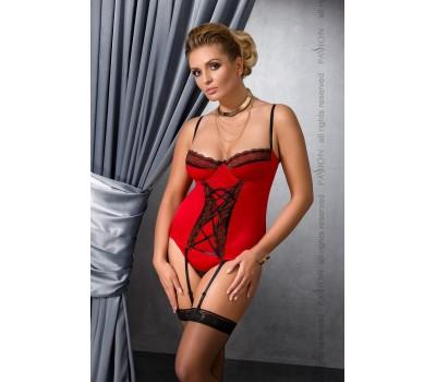 EVANE CORSET red 6XL/7XL - Passion