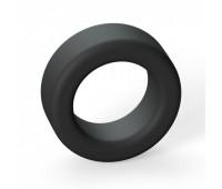 Эрекционное кольцо широкое Love To Love COOL RING - BLACK ONYX