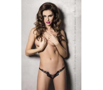 ATHENA THONG black L/XL - Passion Exclusive