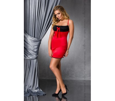 LENA CHEMISE red 6XL/7XL - Passion