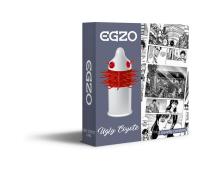 Насадка на член EGZO Uglu Coyot (презерватив с усиками)