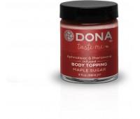 Карамель для тела DONA Body Topping - MAPLE SUGAR
