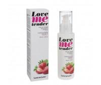 Массажное масло Love To Love LOVE ME TENDER Strawberry (100 мл)